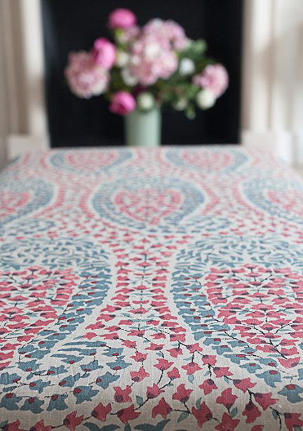 Alexandra Langdon interiors beautiful printed fabrics